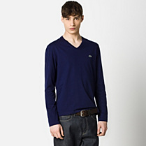 Lacoste Slim fit V-neck Tee-shirt Men