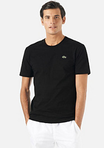 Lacoste Round neck plain tee-shirt Men