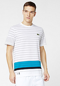 Lacoste Andy Roddick striped tee-shirt Men