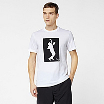 Lacoste Andy Roddick printed tee-shirt Men