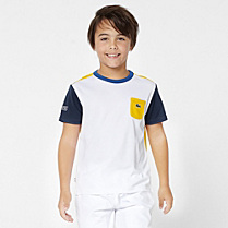 Multi-colour Team Lacoste tee-shirt Boy
