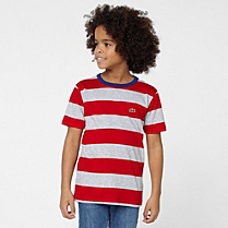 Lacoste Striped tee-shirt Boy