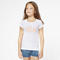 Lacoste Tee-shirt with maxi crocodile gender.gir