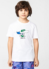 Lacoste Printed tee-shirt with gift box Boy