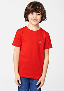 Lacoste Tee-shirt printed on the back Boy