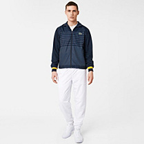 Lacoste Andy Roddick striped tracksuit Men
