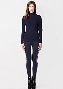 Lacoste Merino wool leggings Women