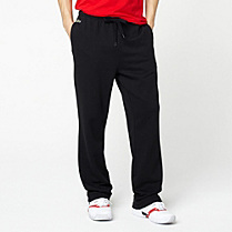 Lacoste Plain fleece tracksuit trousers. Men