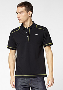 Casual Sport plain Lacoste polo Men