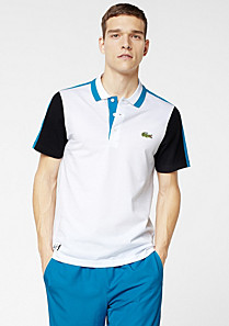 Andy Roddick Lacoste Sport multi-colour polo Men