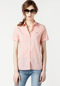 Lacoste Checked shirt Women