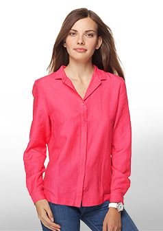 Lacoste Plain classic fit shirt Women