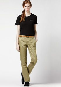Lacoste Slim fit chinos Women