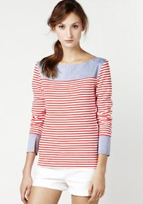 Lacoste Long-sleeved overblouse Women