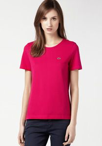 Lacoste Plain tee-shirt Women