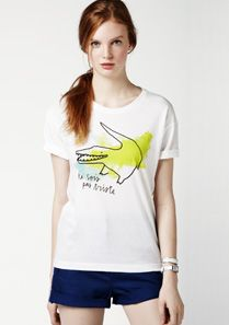 Lacoste Printed tee-shirt Women