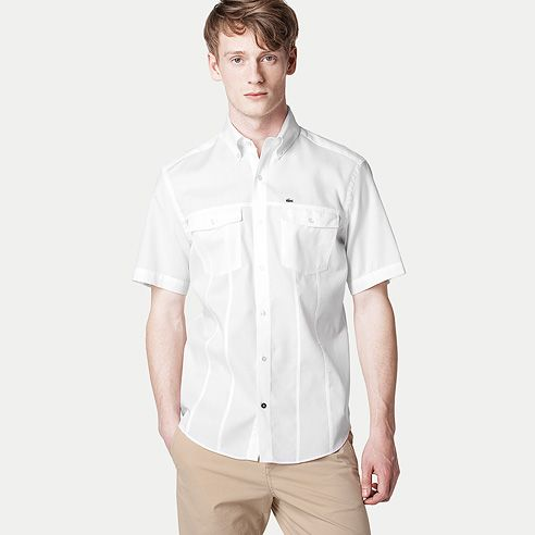 Plain regular shirt