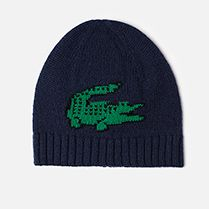 Lacoste Hat with maxi crocodile Children